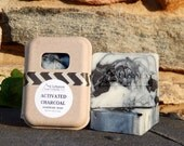 Activated Charcoal Soap - Charcoal Soap - Facial Soap - All Natural Soap - Teenage Skin - Shea Butter - Moisturizing Skincare - Tea Tree -