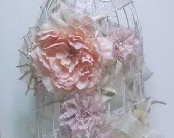Wedding Card Holder - Wedding Birdcage Card Holder - Wedding Gift Card Holder - Shabby Chic Decoration - Birdcage Card Holder-