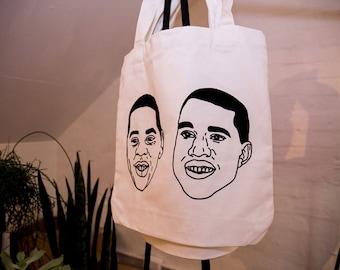 Kanye West & Jay Z Tote Bag