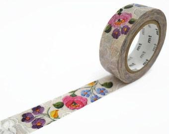 MT Ex Lace 'Kalocsa' Folk Embroidery Washi Tape - Hungarian Embroidery Masking Tape