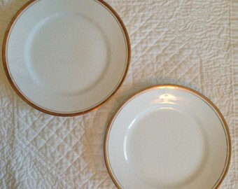 Laughlin Empress Bread Plates - Set of 2