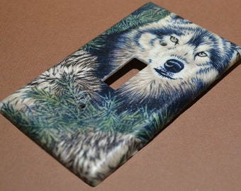 Wolves  Light Switch Covers Outlet Covers