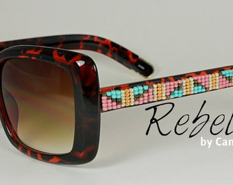 Beaded Sunglasses Morning Glow