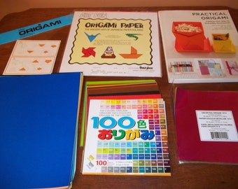 Origami How to Book and Paper - Origami Book - Origami Paper - Japanese Paper Folding Book- Origami