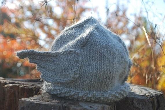 New and Original Handmade Storm Grey Warm Knit Thor Helmet for Men or Women