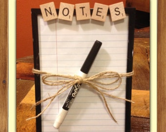 Dry Erase Board, CHOOSE YOUR WORD, 5x7, Personalized Gift, Teacher Gift, Teen Gift, To Do List
