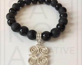Mens Dwennimmen semi-precious bracelet