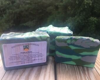 Fresh & Clean Cold Process Handmade Soap