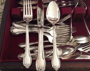 Vintage silverware