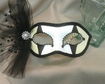 COTILLION Handpainted Masquerade Mask