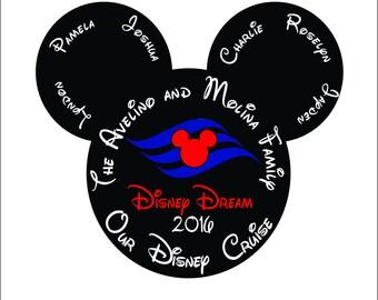 Mickey Family Cruise Trip Shirt