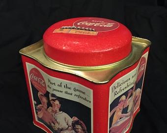Coca Cola Vintage Tin - 1992