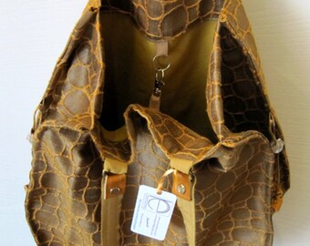 Bag fabric ESPRIT, handmade.