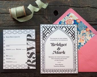 Bridget Wedding Invitation Sample