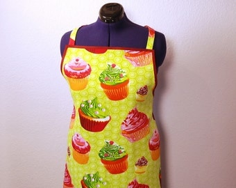 Cooking apron, apron, tablier, Orlando woman, muffin gift woman