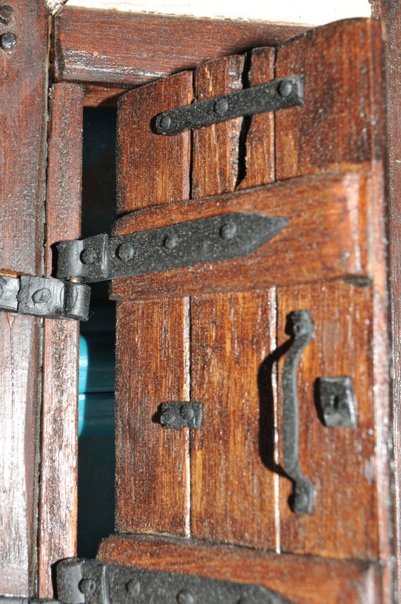 medieval ironmongery door furniture doll house furniture