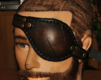 leathedr eye patch