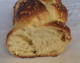 Monterey Jack and Onion Filled Braided Bread