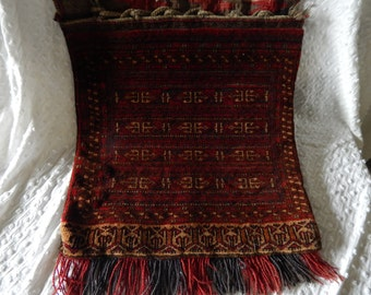 Antique Baluch Bag 1930 Wool