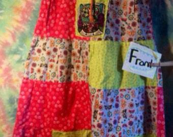 Child's Lg patchwork skirt