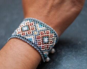 Eye of God Huichol bracelet