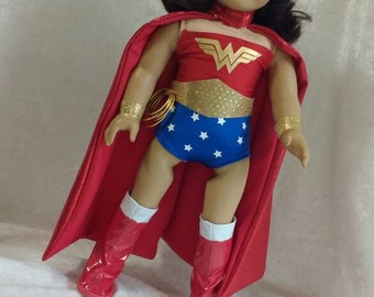 Doll Clothes, Wonder Woman Costume