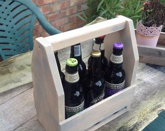 Beer bottle carrier