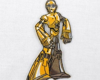 C3P0  Officially Licensed Star Wars Patch