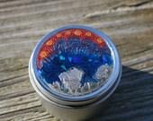 Gift Tin, Stash Tin, Keepsake Tin, Pill Container, Travel Tin