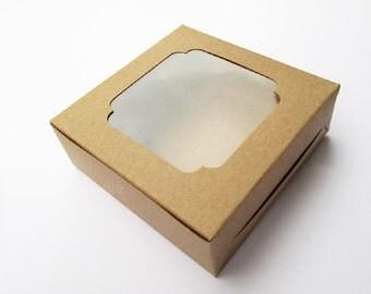 Small Kraft Box, Soap Packaging, Soap Box, Macaron Box Set of 20