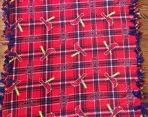 Saint Louis Cardinals Fleece Tie Blanket