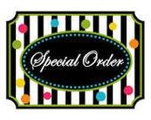 Special Order - Tanya