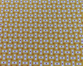 Bread & Butter - Rectangles in Yellow - By American Jane for Moda Fabrics