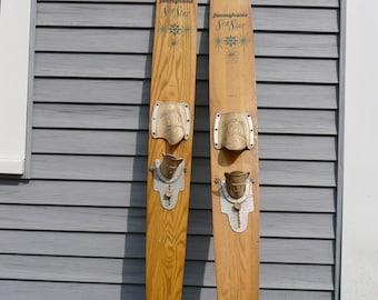 Wood water ski - Pennsylvania Athletic Company (single ski)