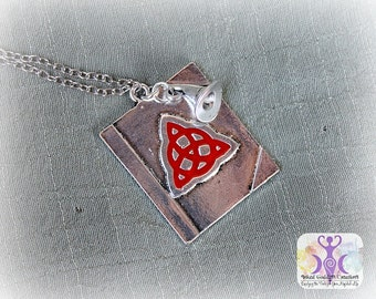 Charmed Book of Shadows Inspired Necklace