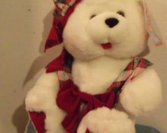 Hug m White Bear by Holiday Hug em