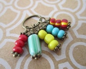 Colorful Assorted Handmade Charms - Ready Made Jewelry Parts - Charmed I'm Sure - Boho Hippy Style