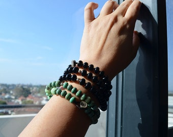 Two Way Necklace-Black Tourmaline