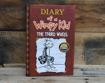 Hollow Book Safe - Diary of a Wimpy Kid - The Third Wheel