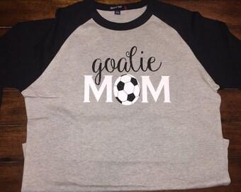 Goalie Mom Raglan Shirt