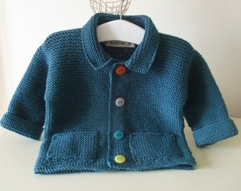Knitting Pattern for Smartie Jacket