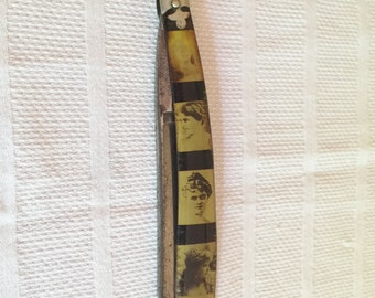 Novelty Cutlery Transparent straight razor