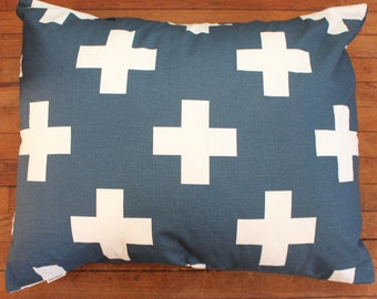 Cross Dog Bed. Pet Duvet Bed Cover. Canvas Medium/Large Dog Bed Cover