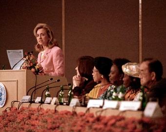 Hillary Clinton 1995 UN