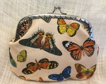 Large Butterfly Coin Purse
