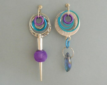 Asymmetric Earrings 1052