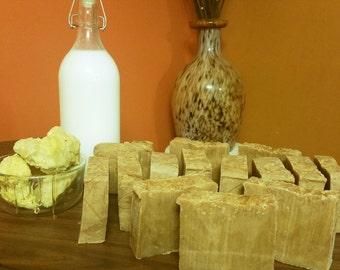 Shea Butter and Honey Goats Milk Exfoliating Moisture bar