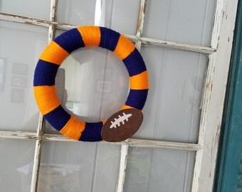 Syracuse University football wreath