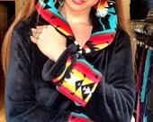 ON SALE NOW Aztec princess-Minkie Hoodie