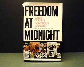 50 % OFF -Freedom At Midnight ~ Simon &Schuster New York 1975~ 1st Edition Hardcover